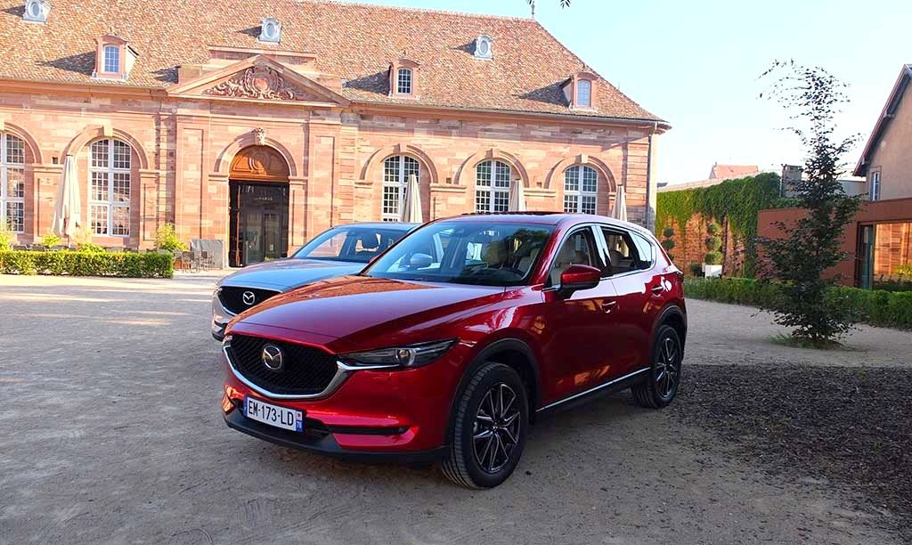 Mazda CX-5 2017 - Soul Red Crystal