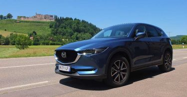 Mazda CX-5 2017 - Essai en Forêt Noire Juin 2017