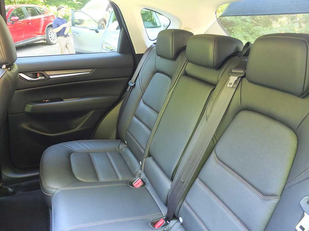 Mazda CX-5 2017 - Places arrières