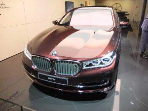 iaa2017 bmw swan (25ans de BMW Individual)