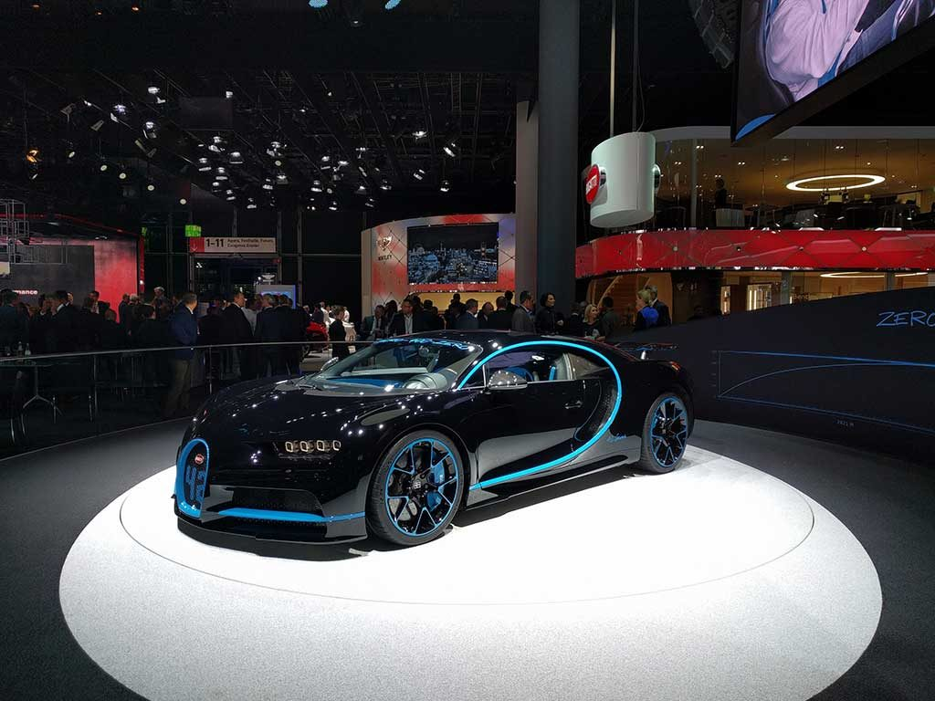iaa2017 Bugatti Chiron