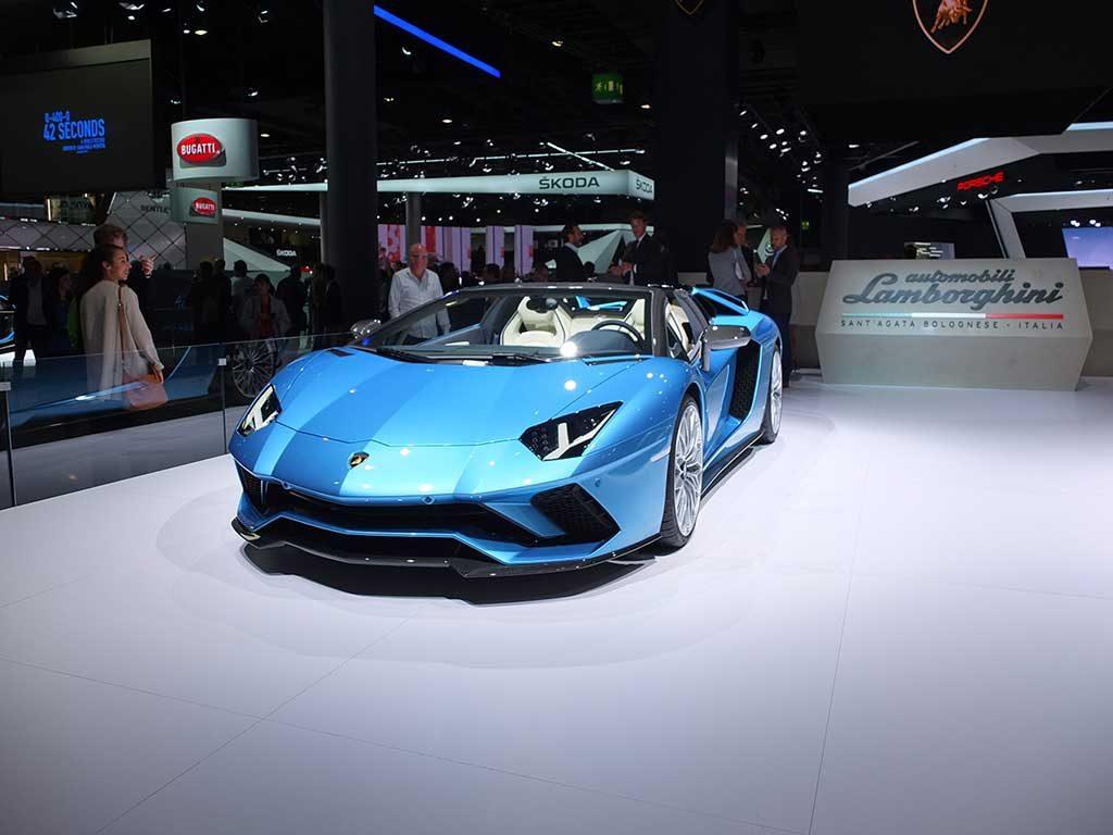 iaa2017 Lamborghini Aventador S Roadster