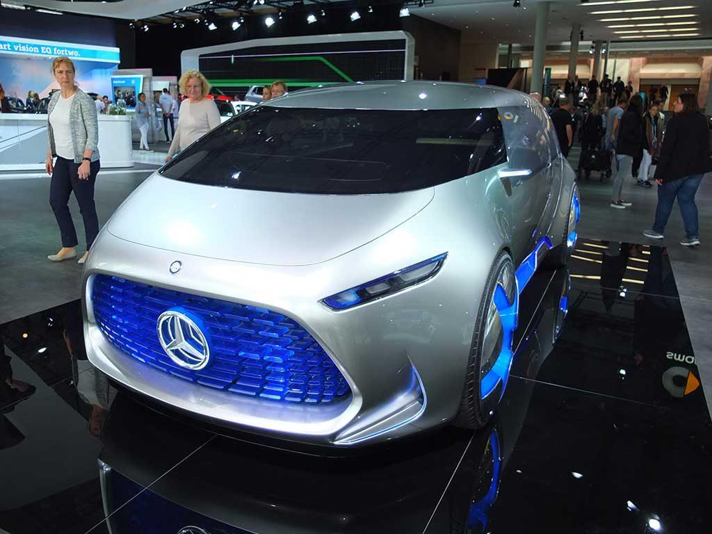 iaa2017 mercedes concept electrique