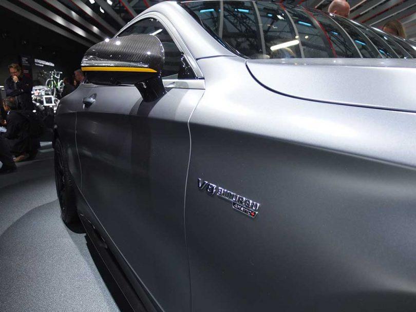 mercedes amg class S coupé