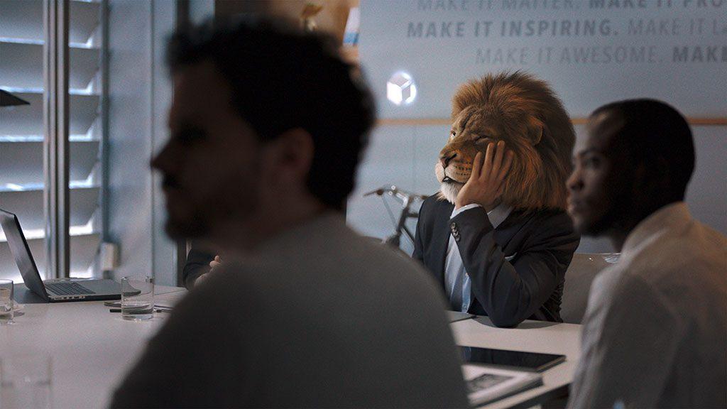 pub mercedes classe s lion