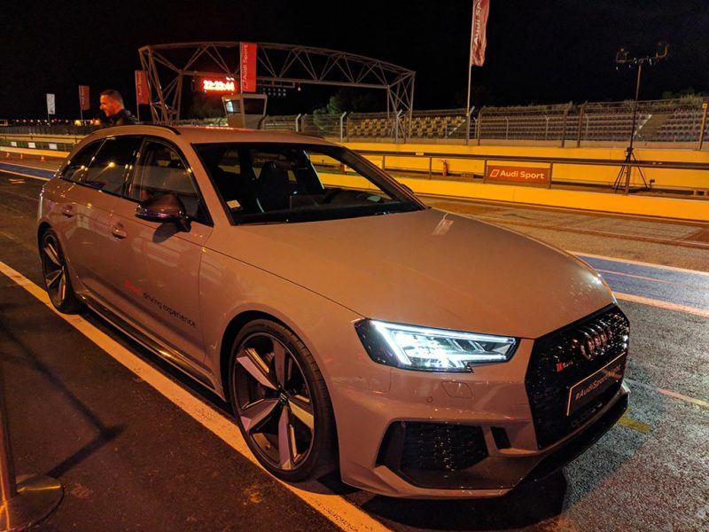 Nouvelle Audi RS4 B9 2018 à la #audisportnight