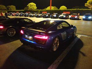 Audi Sport Night - audi R8 v10 plus