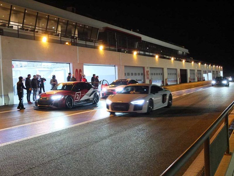 Audi Sport Night - audi RS3 LMS & R8