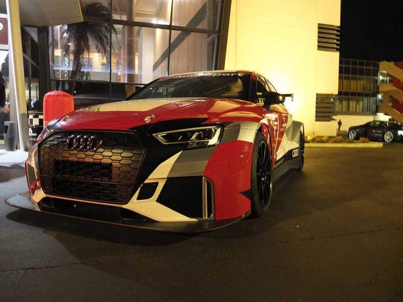 Audi Sport Night - audi RS3 LMS