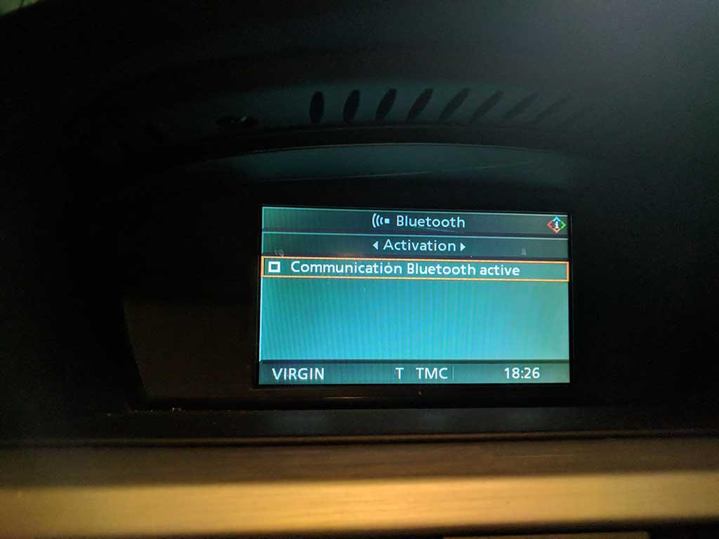 BMW Serie 3 : quand le module Bluetooth provoque une panne