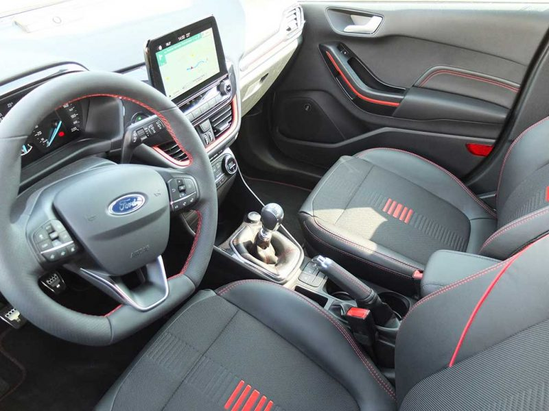 Ford Fiesta ST Line (test au Castellet)