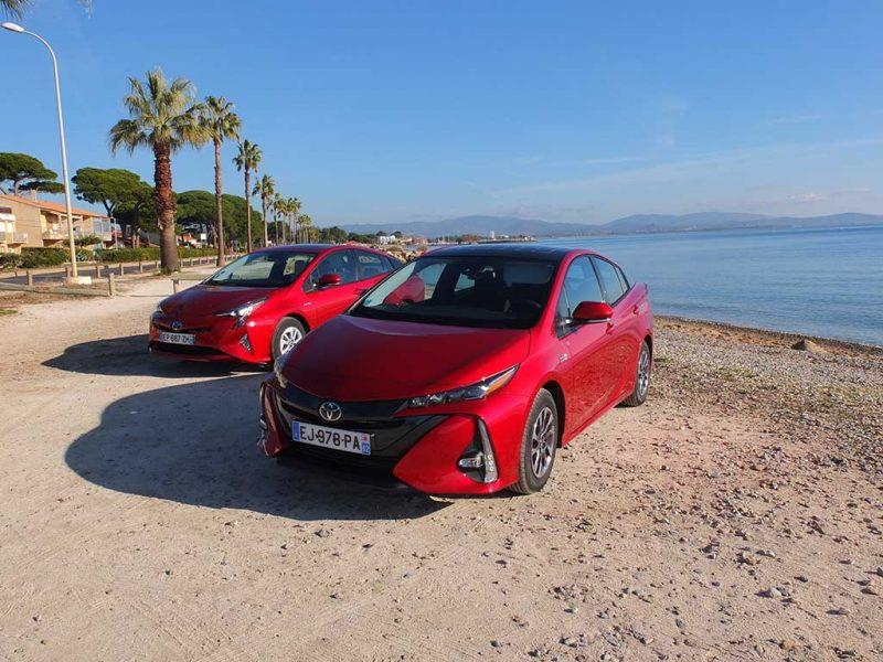 Toyota Prius vs Prius PHV
