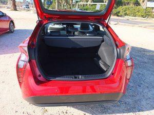 Toyota Prius coffre
