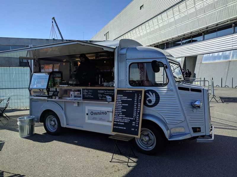 Fete de la roue 2018 Mulhouse - foodtruck old citroen