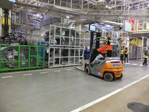 Visite usine Skoda Mlada Bolestav
