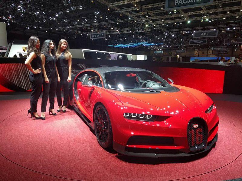Bugatti chiron sport - geneve 2018