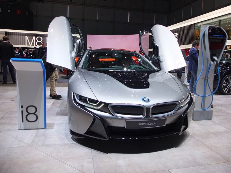 bmw i8 - salon de geneve 2018