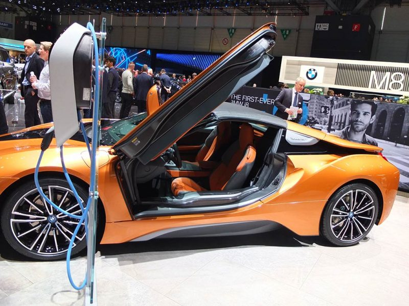 bmw i8 roadster - salon de geneve 2018