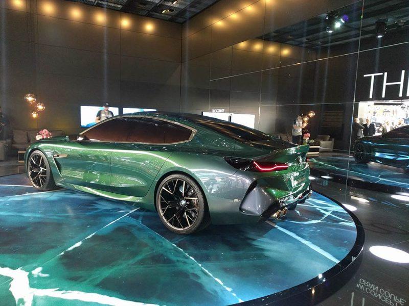 bmw m8 concept - salon de geneve 2018