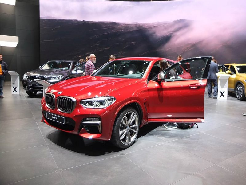 bmw x4 - salon de geneve 2018