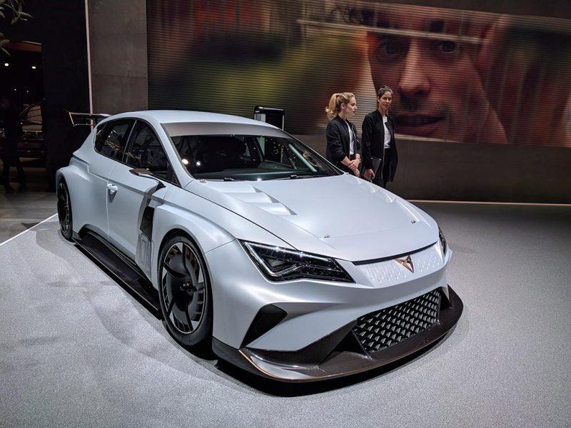cupra e-racer tcr - geneve 2018