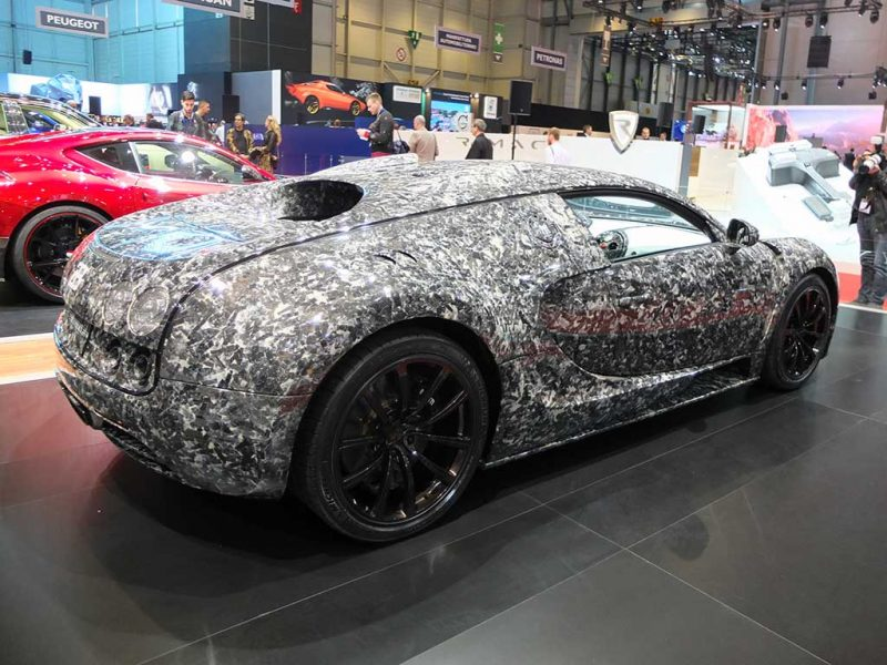 Mansory Bugatti - salon de geneve 2018