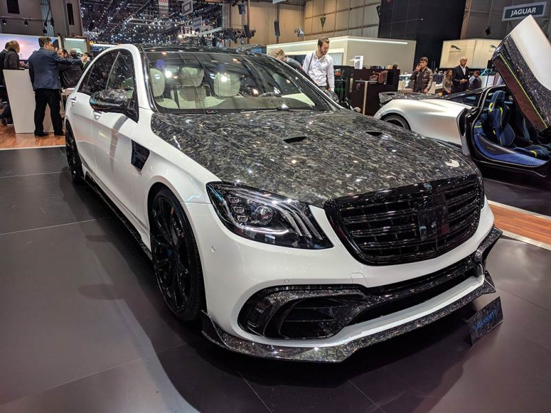 Mansory Mercedes- salon de geneve 2018