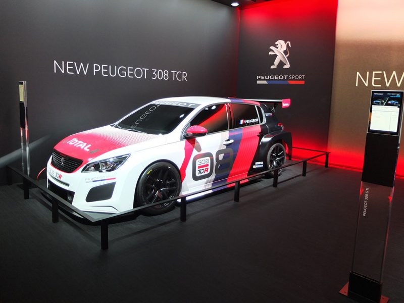 Peugeot 308 TCR - salon de geneve 2018