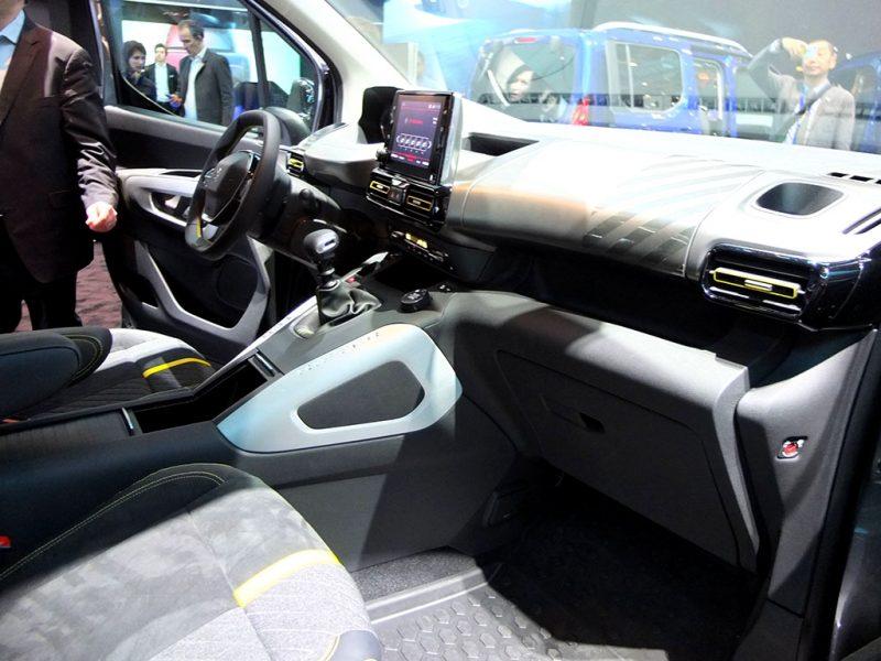 Peugeot Rifter 4x4 - salon de geneve 2018