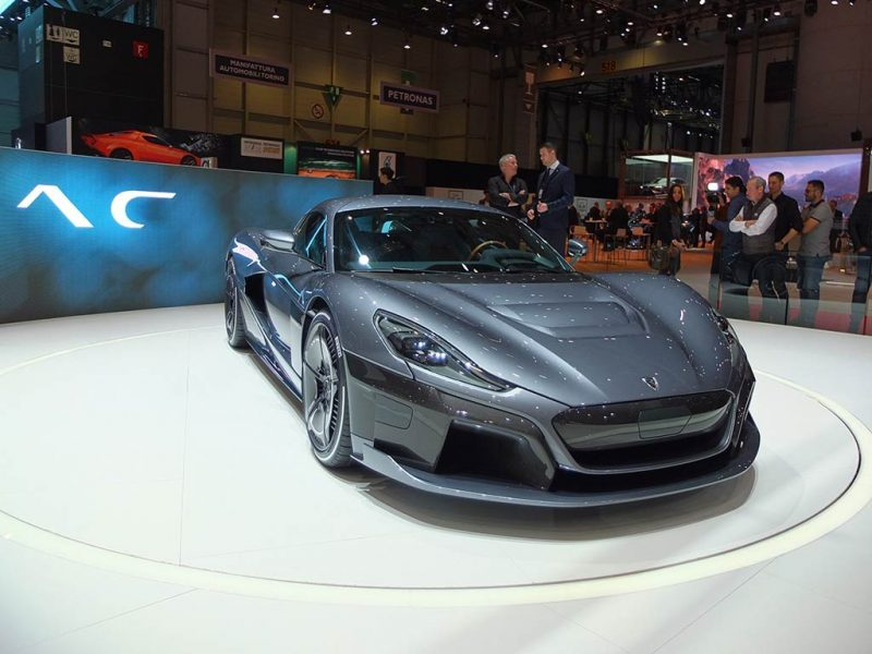 rimac concept two - geneve 2018