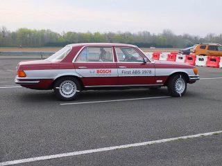 mercedes classe S avec ABS bosch 1978