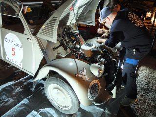 Tour Auto 2018 (Optic2000) - Parc Fermé - Citroen 2cv type A 1952 Francois Allain