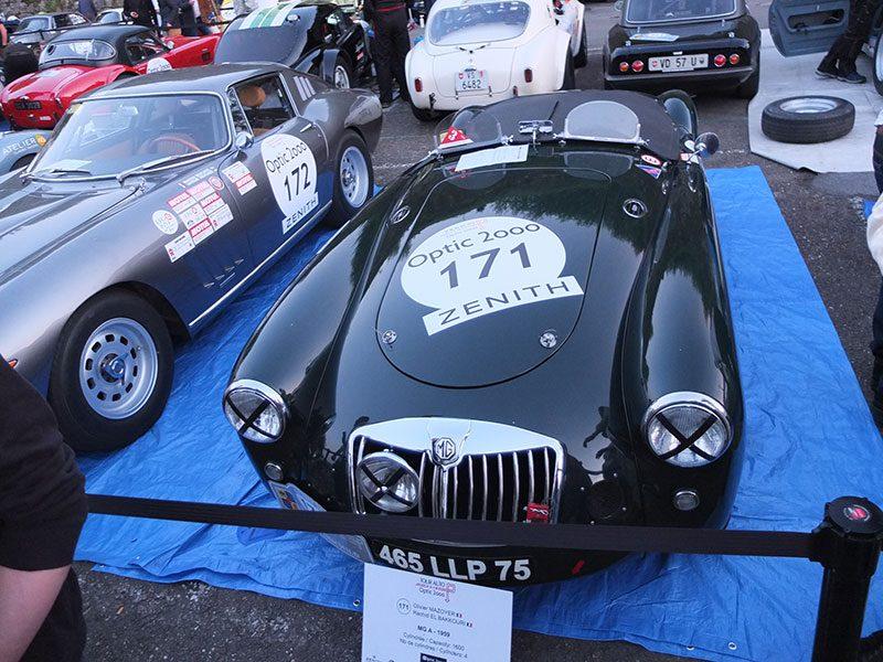 Tour Auto 2018 (Optic2000) - Parc Fermé - MG A 1959