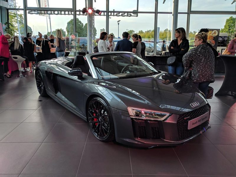 Ladies First à Audi Sausheim : R8 Spyder