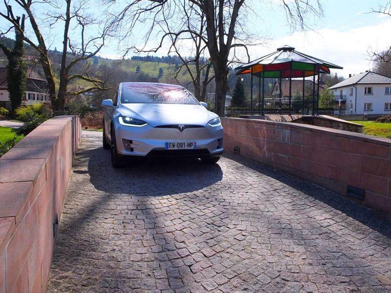 essai Tesla Model X 100D