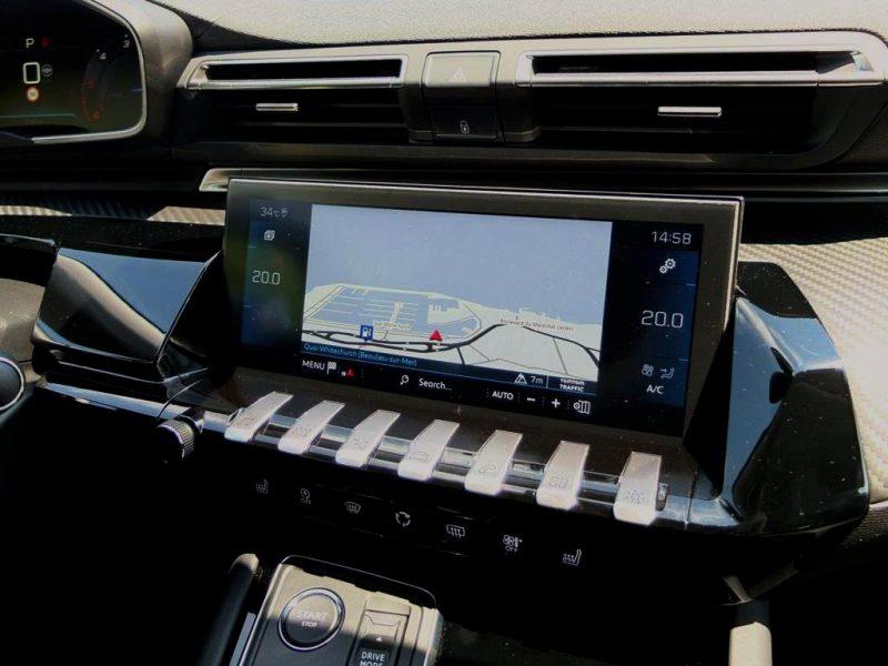 Peugeot 508 (2018) - Allure - système embarqué