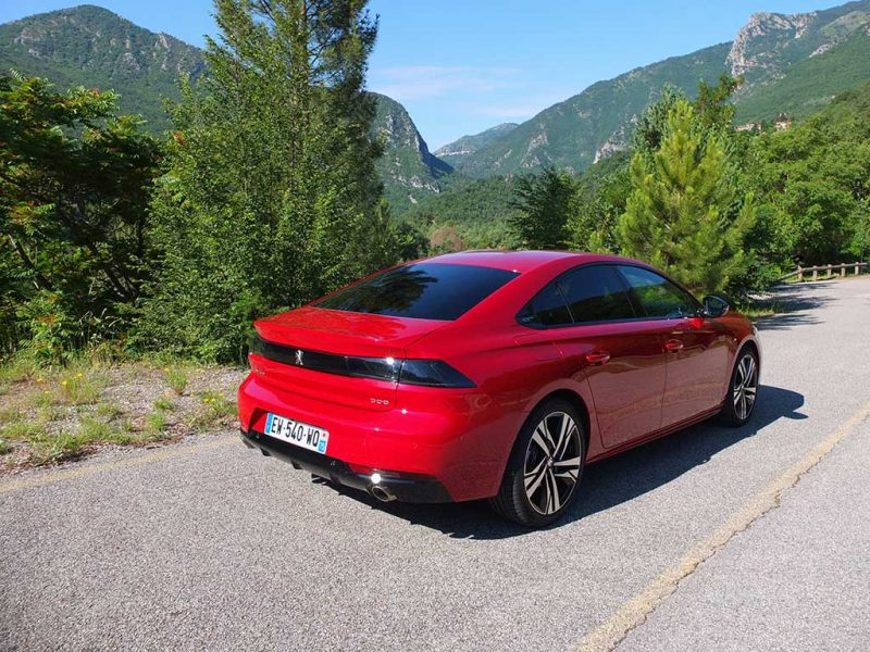 Peugeot 508 (2018) - GT Rouge ultimate