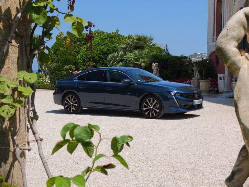 Peugeot 508 (2018) - Allure Bleu Celebes