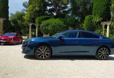 Peugeot 508 (2018) - GT Rouge Ultimate et Allure Bleu Celebes