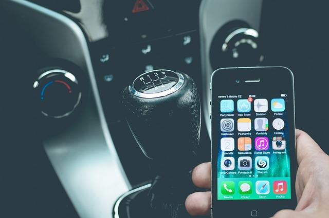 smartphone au volant
