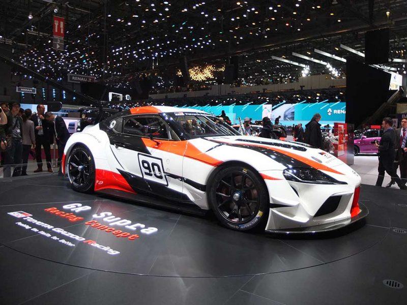 Toyota Supra GR - salon de Genève 2018