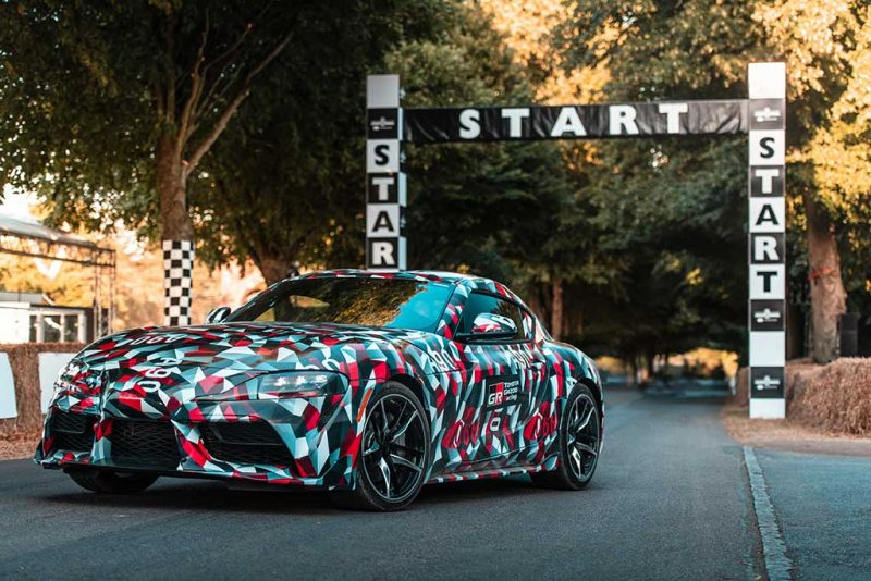 Toyota Supra - Goodwood 2018 (Proto A90)