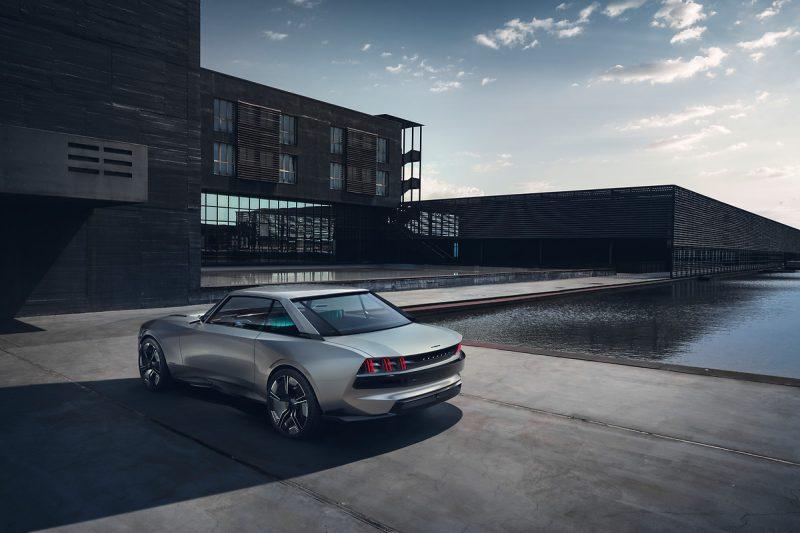 Peugeot e-LEGEND Concept © Automobiles Peugeot