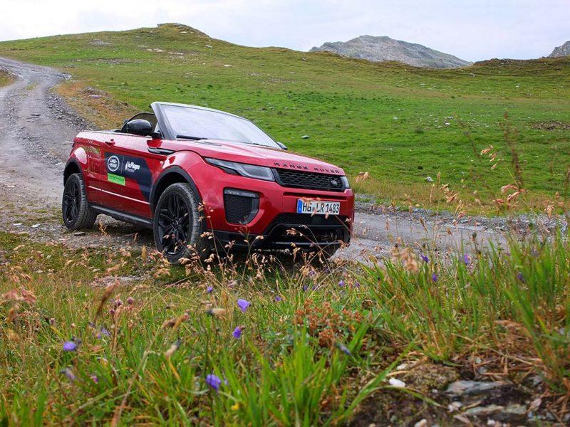 Essai Range Rover Evoque Cabriolet