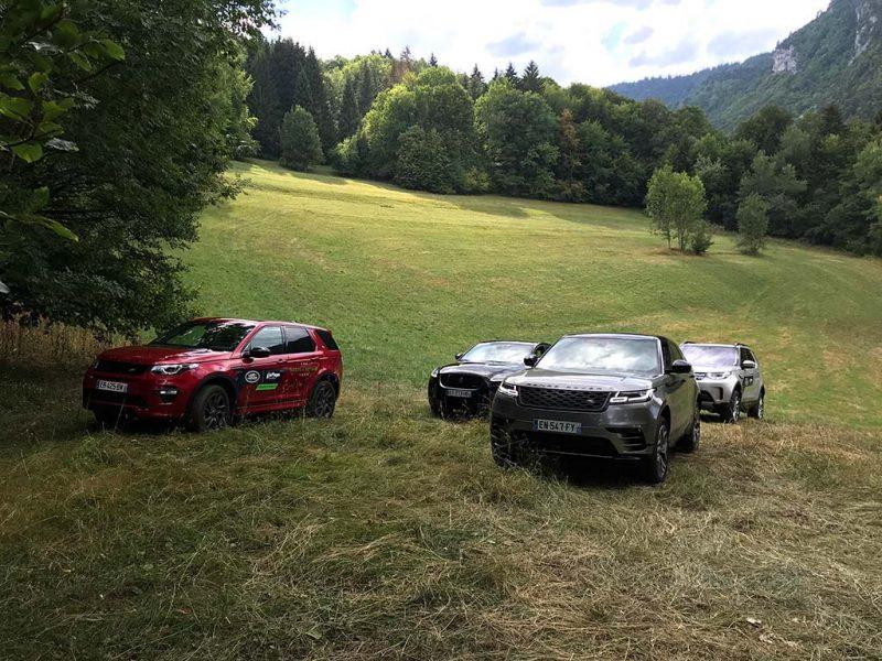 Essai gamme Jaguar Land Rover