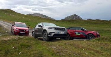 Essai gamme Land Rover