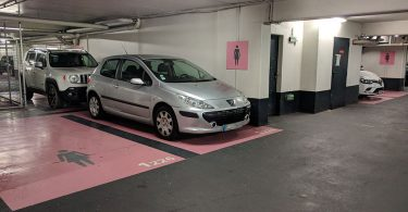 parking places femme