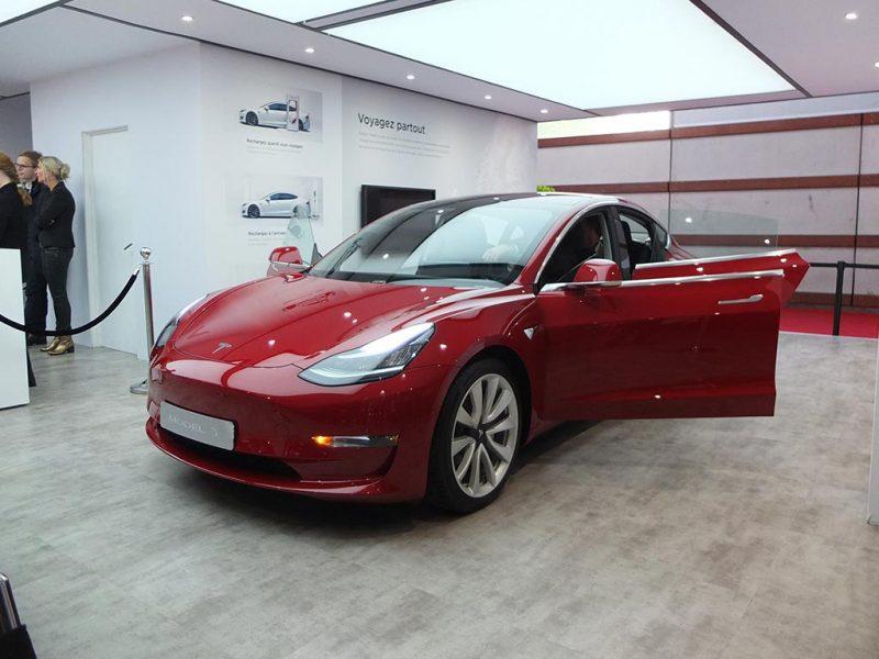 Tesla Model 3 - Mondialauto 2018