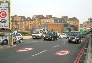 London congestion charging at Old Street, large photo, by Nevilley