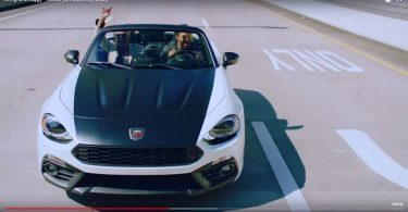 abarth 124 spider clip shaggy sting